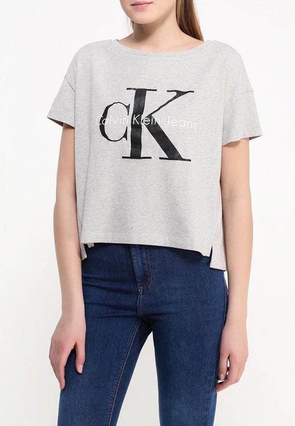 Футболка с надписями Calvin Klein Jeans J2IJ202093: изображение 3