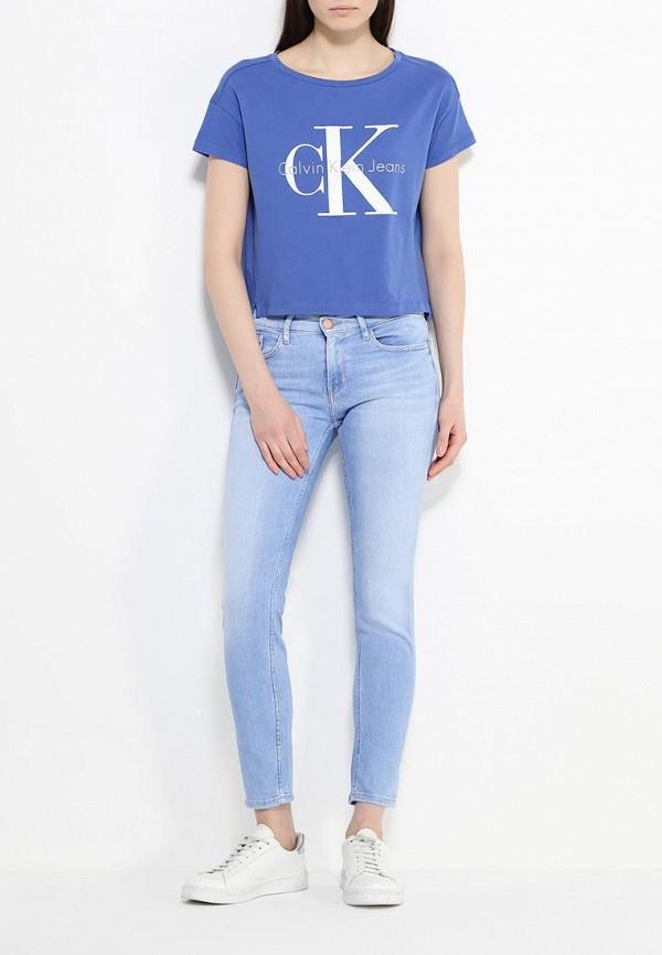 Футболка с надписями Calvin Klein Jeans J2IJ202093: изображение 2