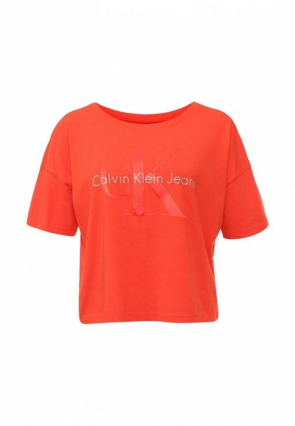 Футболка с надписями Calvin Klein Jeans J20J200793