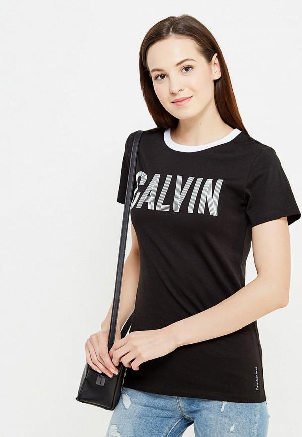 Футболка Calvin Klein Jeans Calvin Klein Jeans CA939EWUHM17 футболка calvin klein jeans calvin klein jeans ca939ewzjs74