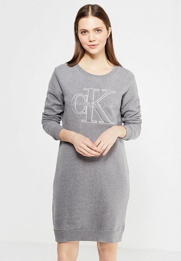 Платье Calvin Klein Jeans Calvin Klein Jeans CA939EWUHM76 платье calvin klein jeans calvin klein jeans ca939ewyvu26