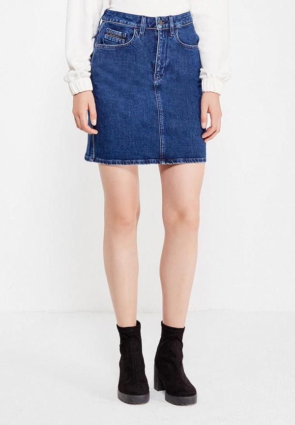 Юбка джинсовая Calvin Klein Jeans Calvin Klein Jeans CA939EWUHM81 met in jeans джинсовая юбка