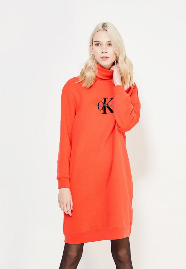 Платье Calvin Klein Jeans Calvin Klein Jeans CA939EWYVU26 платье calvin klein jeans calvin klein jeans ca939ewyvu26