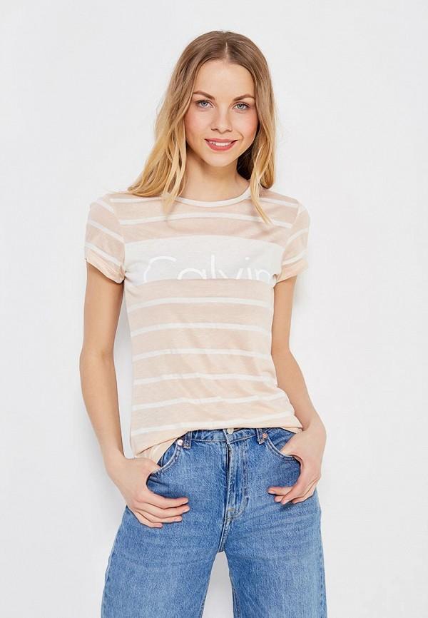 Футболка Calvin Klein Jeans Calvin Klein Jeans CA939EWZJS49 футболка calvin klein jeans calvin klein jeans ca939emuhl56