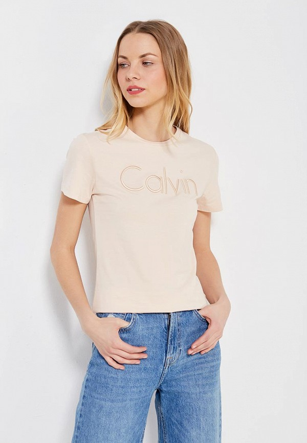 Футболка Calvin Klein Jeans Calvin Klein Jeans CA939EWZJS80 футболка calvin klein jeans calvin klein jeans ca939ewzjs74