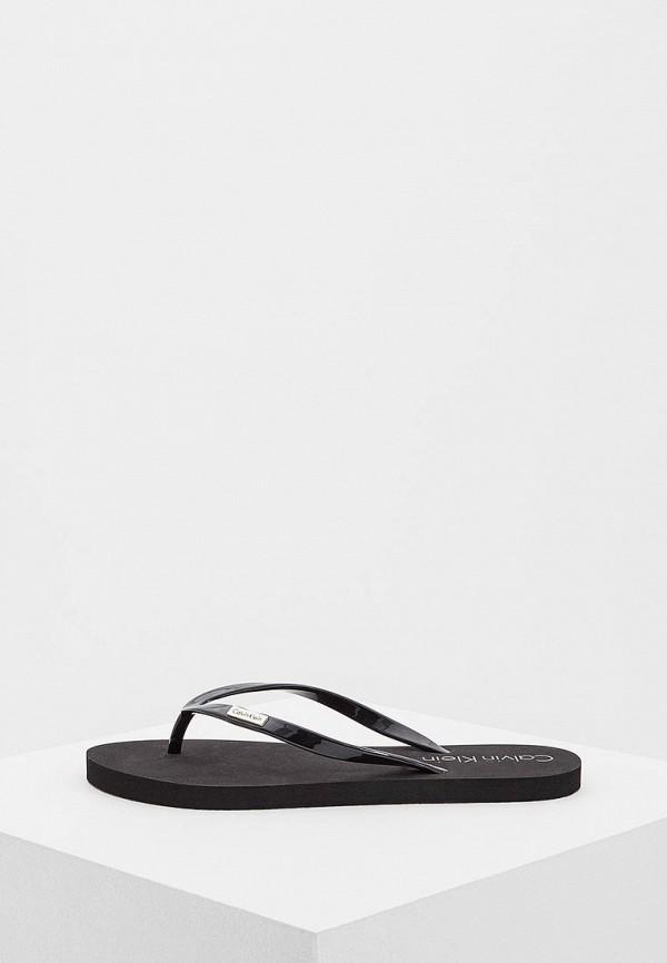 Купить Сланцы Calvin Klein Underwear, CA994AWAQAE3, черный, Весна-лето 2018