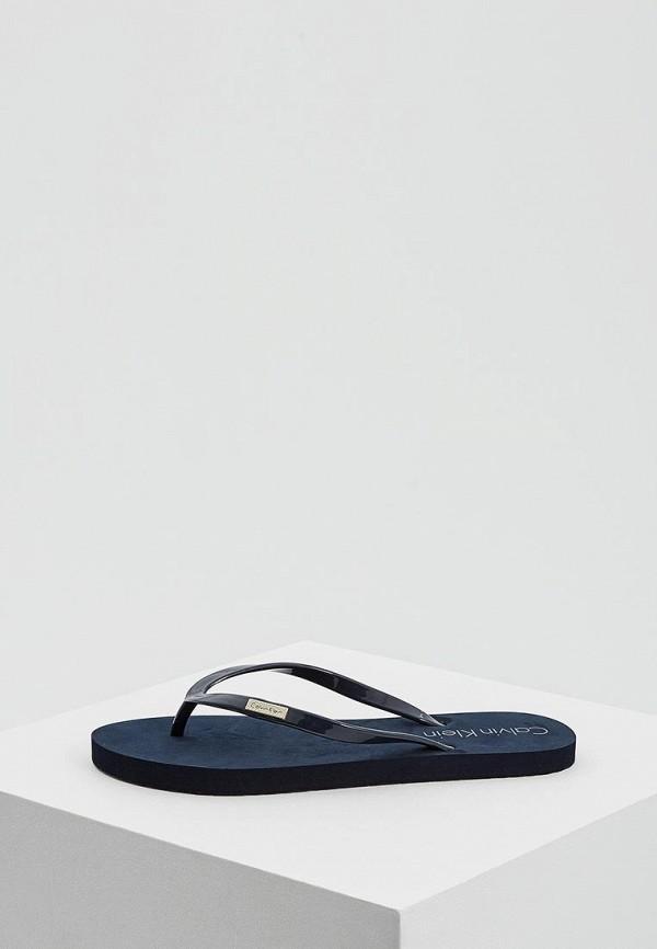 Купить Сланцы Calvin Klein Underwear, CA994AWAQAE5, синий, Весна-лето 2018