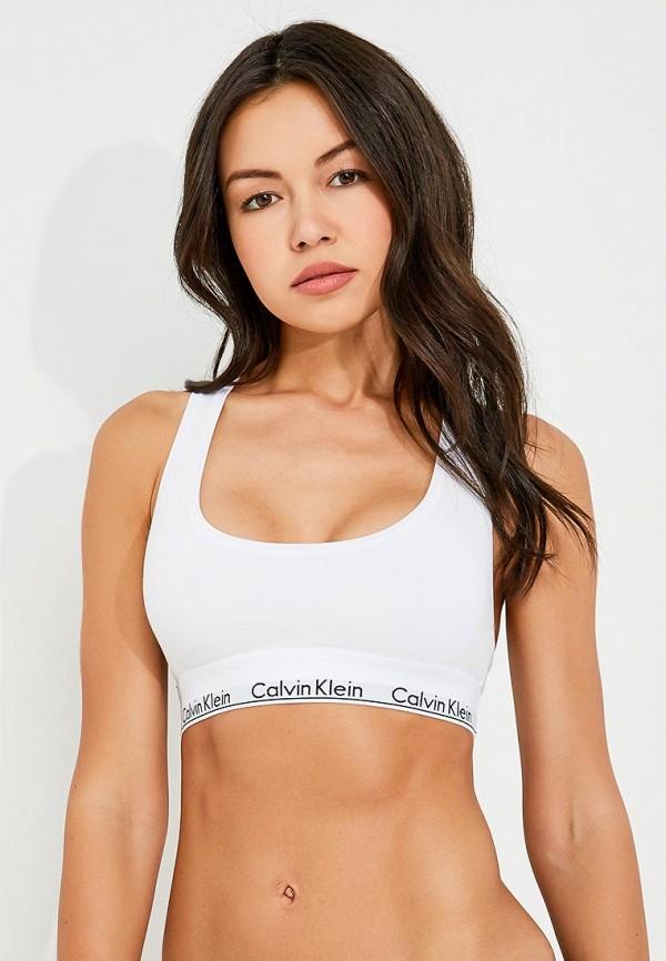 Бюстгальтер Calvin Klein Underwear Calvin Klein Underwear CA994EWOYE43 майка мужская calvin klein underwear цвет белый 2 шт nu8703a размер l 50