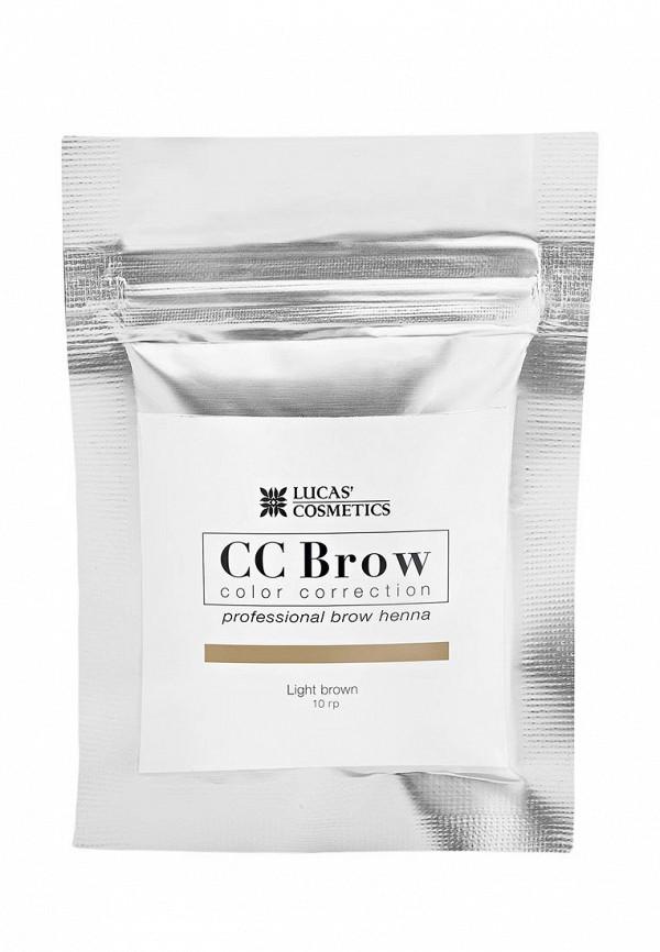 Купить Хна для бровей CC Brow, в саше (светло-коричневый), 10 гр, CC003LWXZK07, Весна-лето 2018