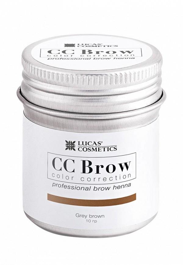 Купить Хна для бровей CC Brow, в баночке (серо-коричневый), 10 гр, CC003LWXZK20, серый, Весна-лето 2018