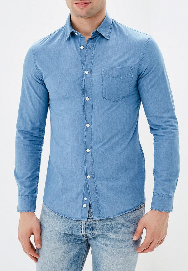 Фото Рубашка джинсовая Celio. Купить с доставкой