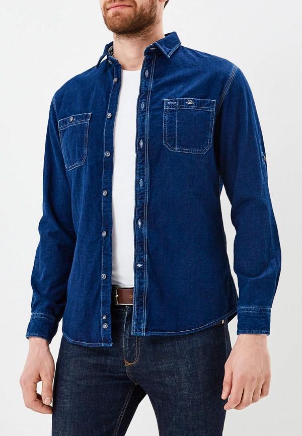 Рубашка джинсовая Celio цвет синий сезон весна, лето, мульти страна Бангладеш размер 44, 46, 48, 50, 52, 54, 56