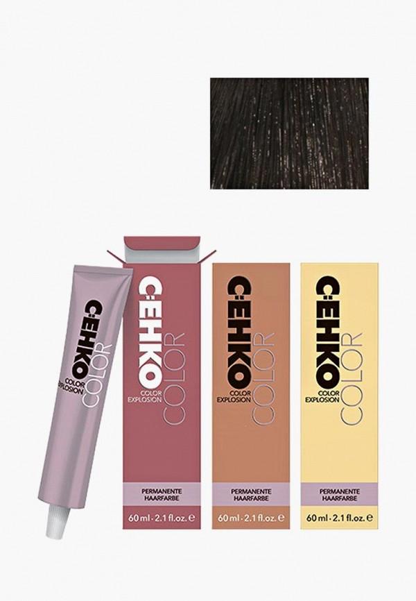 Купить Краска для волос Cehko, Color Explosion 4/0 Коричневый/Mittelbraun 60 мл, CE014LWAZED9, коричневый, Весна-лето 2018