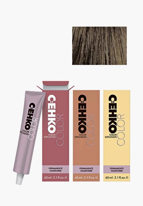 Купить Краска для волос Cehko, Color Explosion 6/32 Золотисто-пепельный блондин/Dunkelblond go, CE014LWAZEF5, коричневый, Весна-лето 2018