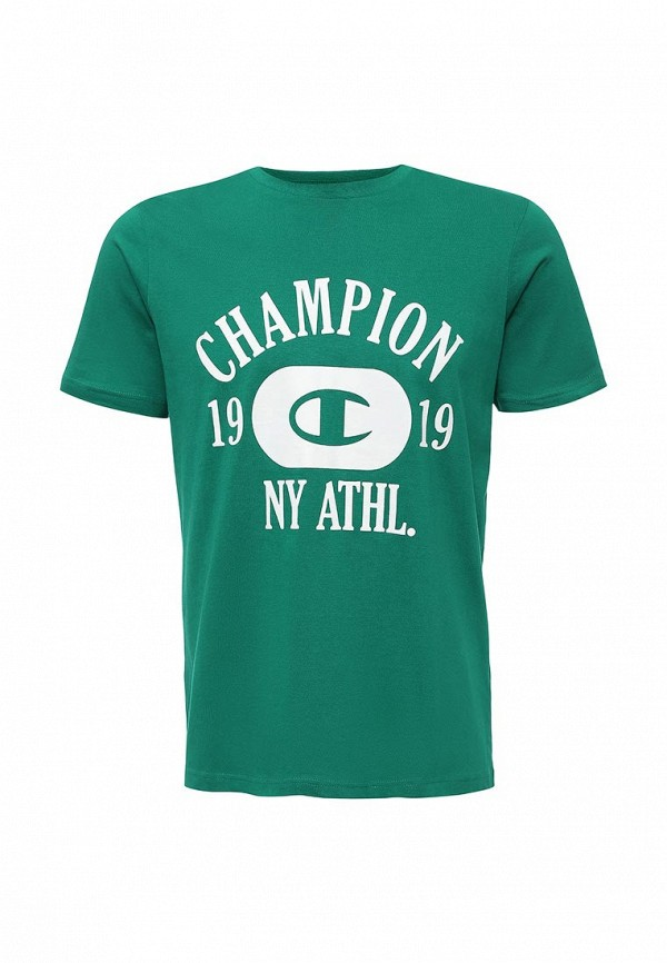 Футболка с надписями Champion CLIFTON_11020186-GR