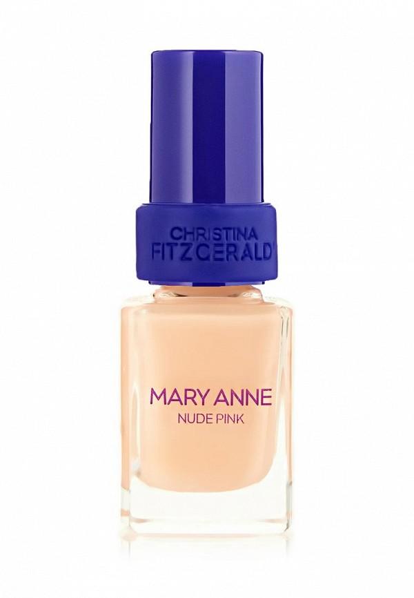 Лак для ногтей Christina Fitzgerald Mary Anne Телесно-розовый