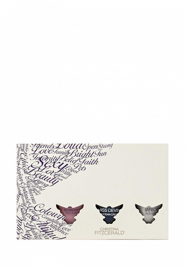 Набор Christina Fitzgerald лаков Miss Devine + Liz + Janice + bond, 9мл