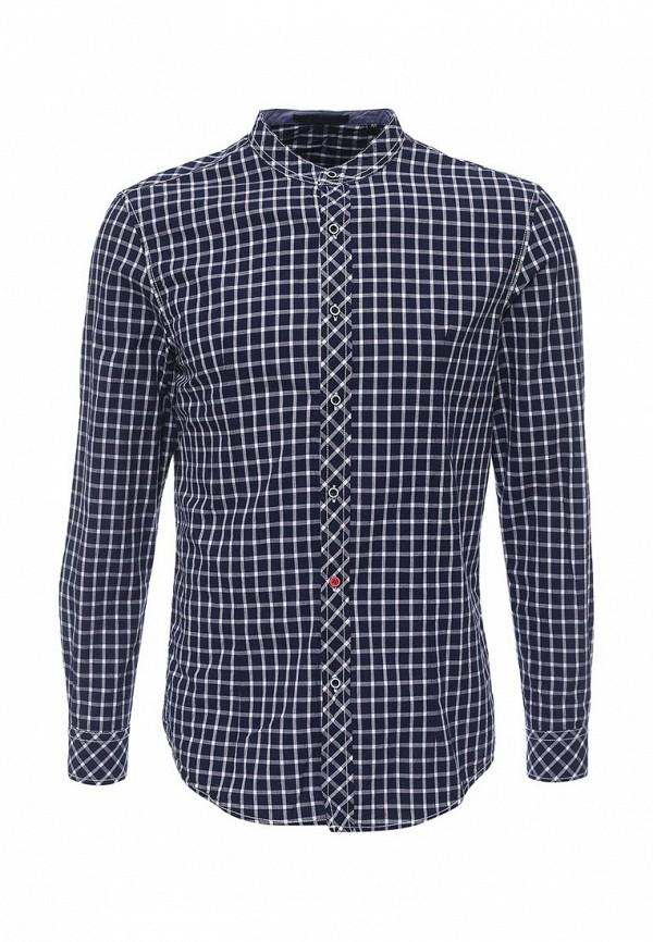 Фото - мужскую рубашку Chromosome синего цвета
