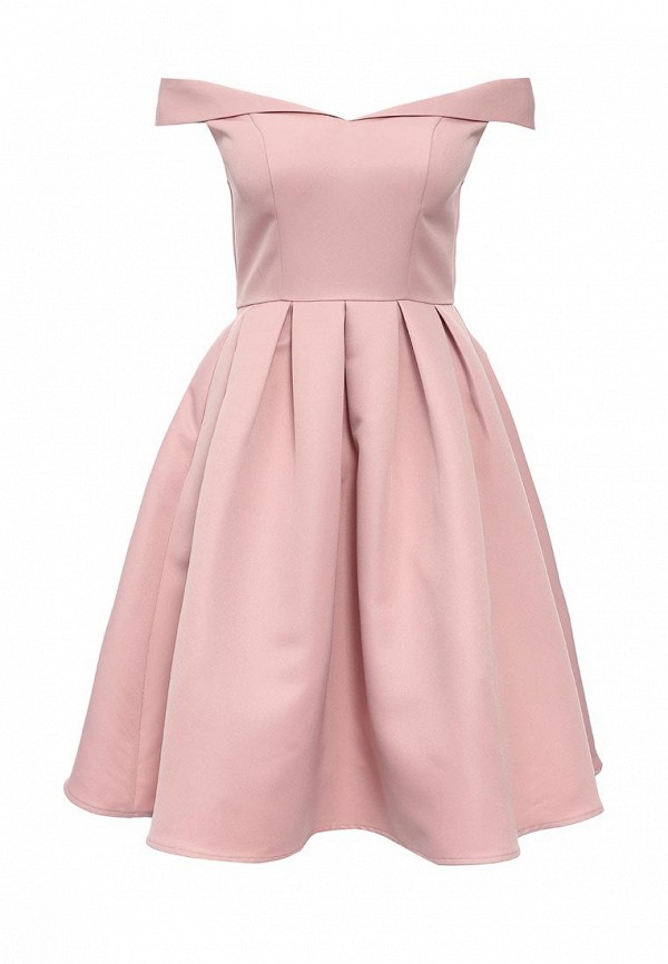 Платье-миди Chi Chi London 7381BR