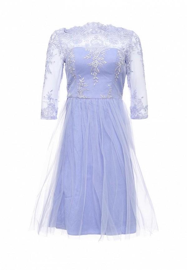 Вечернее / коктейльное платье Chi Chi London 42480PUR