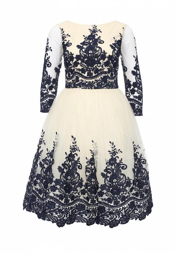 Вечернее / коктейльное платье Chi Chi London 7600BL