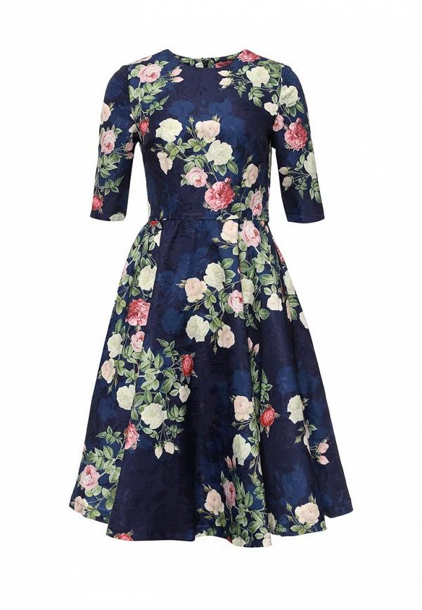 Платье-миди Chi Chi London 7656NB