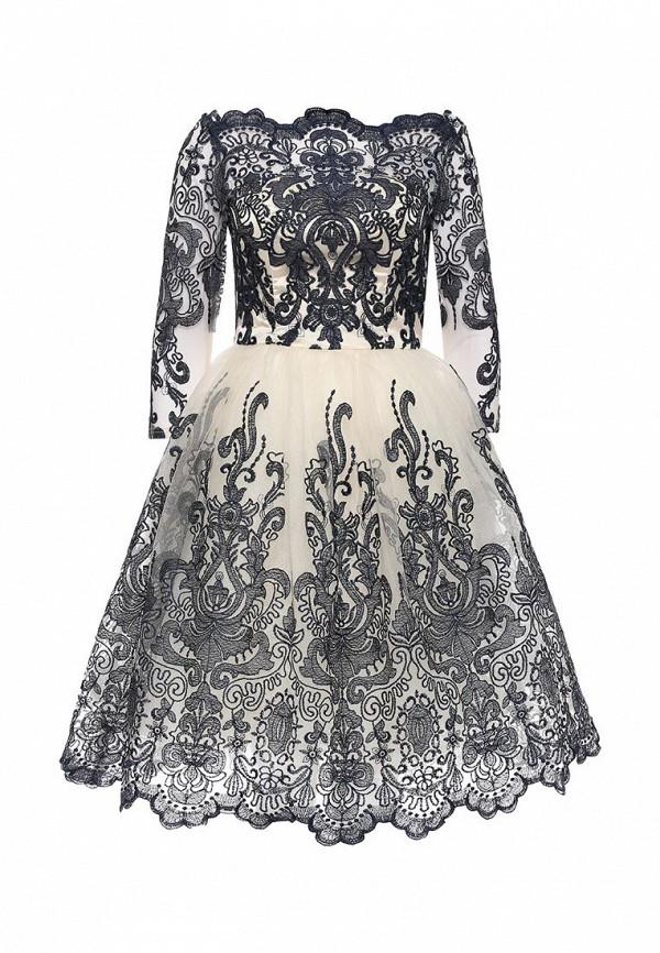Вечернее / коктейльное платье Chi Chi London 41735BLCR