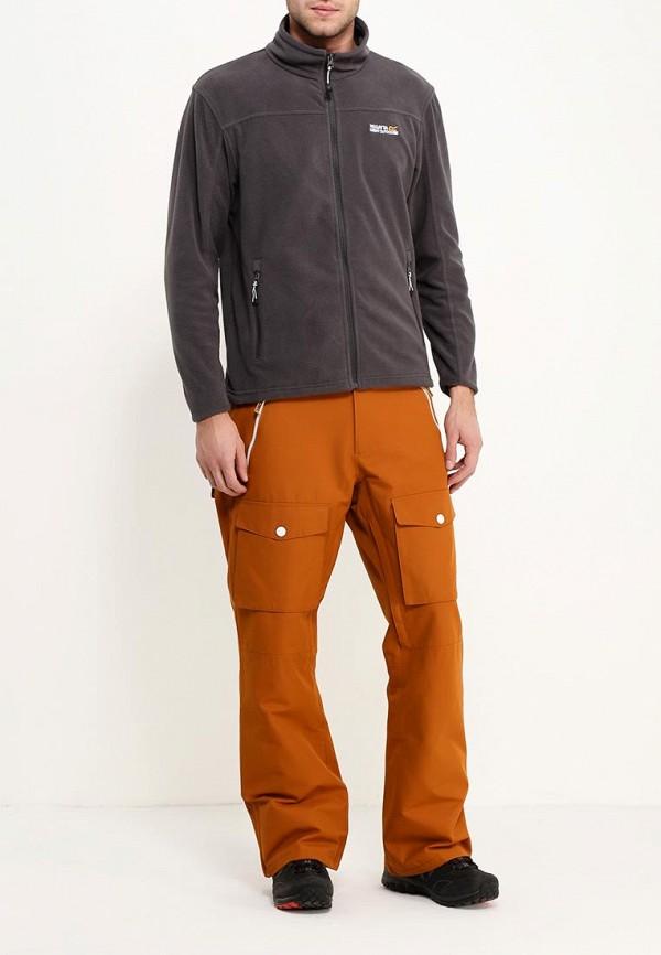 Фото 2 - Брюки горнолыжные CLWR коричневого цвета
