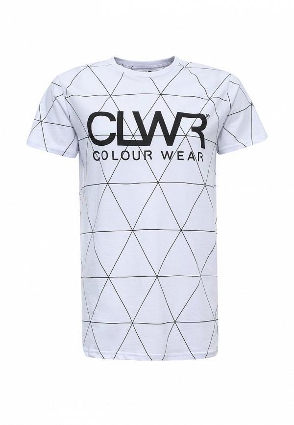 цена  Футболка CLWR CLWR CL003EMTQU32  онлайн в 2017 году