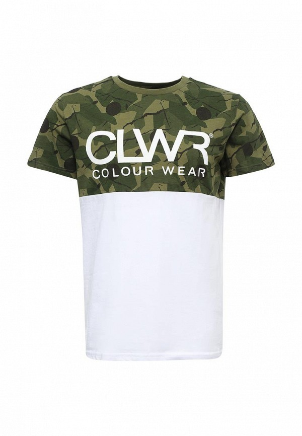 цена  Футболка CLWR CLWR CL003EMTQU34  онлайн в 2017 году