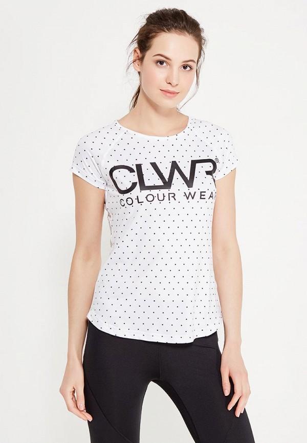 цена  Футболка CLWR CLWR CL003EWTQU49  онлайн в 2017 году