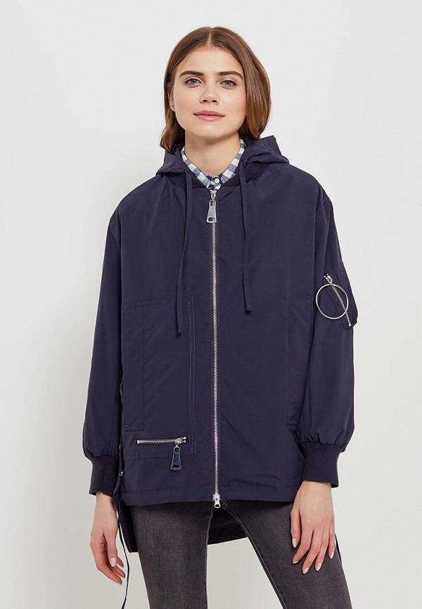 Куртка утепленная Clasna Clasna CL016EWANWV0 куртка женская clasna цвет темно синий cw17d 332cw размер 48