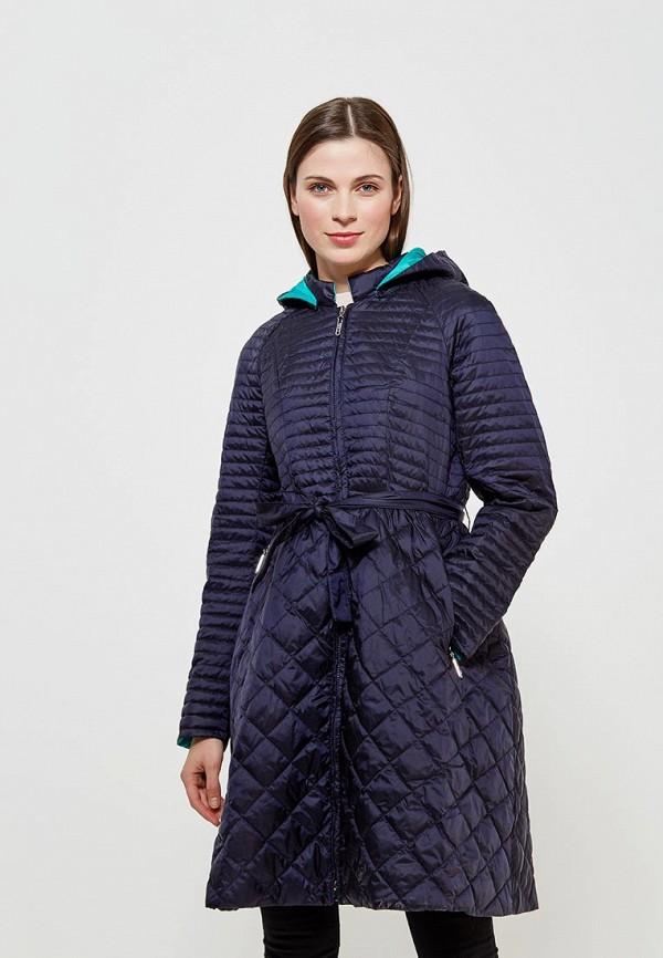 Куртка утепленная Clasna Clasna CL016EWANWW9 куртка женская clasna цвет темно синий cw17d 332cw размер 48
