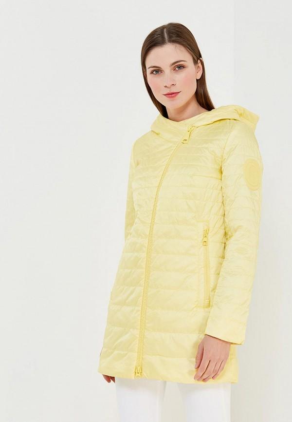 Купить Куртка утепленная Clasna, CL016EWANWX4, желтый, Весна-лето 2018