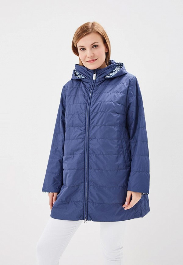 Куртка утепленная Clasna Clasna CL016EWANWZ7 куртка женская clasna цвет темно синий cw17d 332cw размер 48