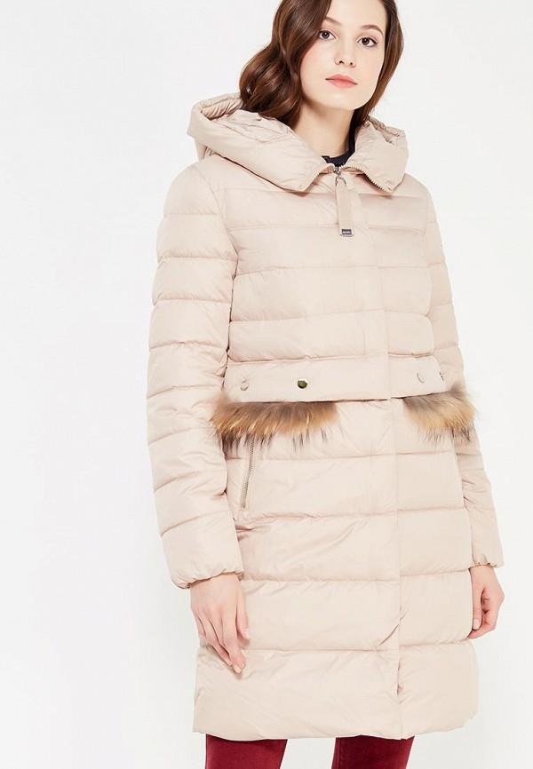 Куртка утепленная Clasna Clasna CL016EWYEZ68 куртка утепленная clasna clasna cl016ewyhd27