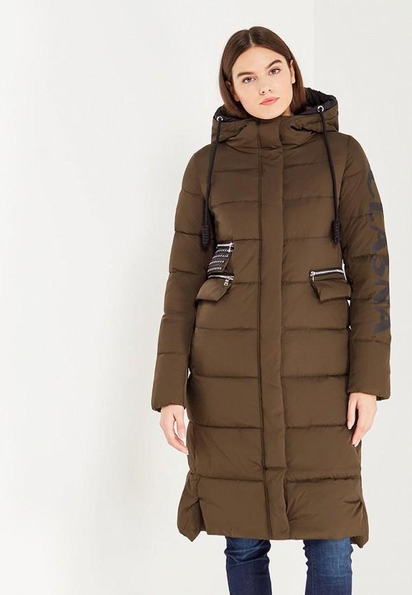 Куртка утепленная Clasna Clasna CL016EWYFA06 куртка утепленная clasna clasna cl016ewnmf28