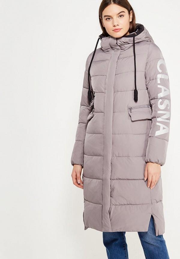 Куртка утепленная Clasna Clasna CL016EWYFC97 куртка утепленная clasna clasna cl016ewrsz35