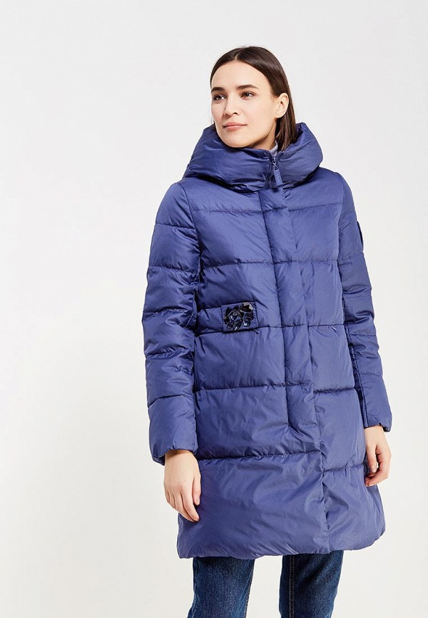 Куртка утепленная Clasna Clasna CL016EWYFD24 куртка женская clasna цвет темно синий cw17d 332cw размер 48