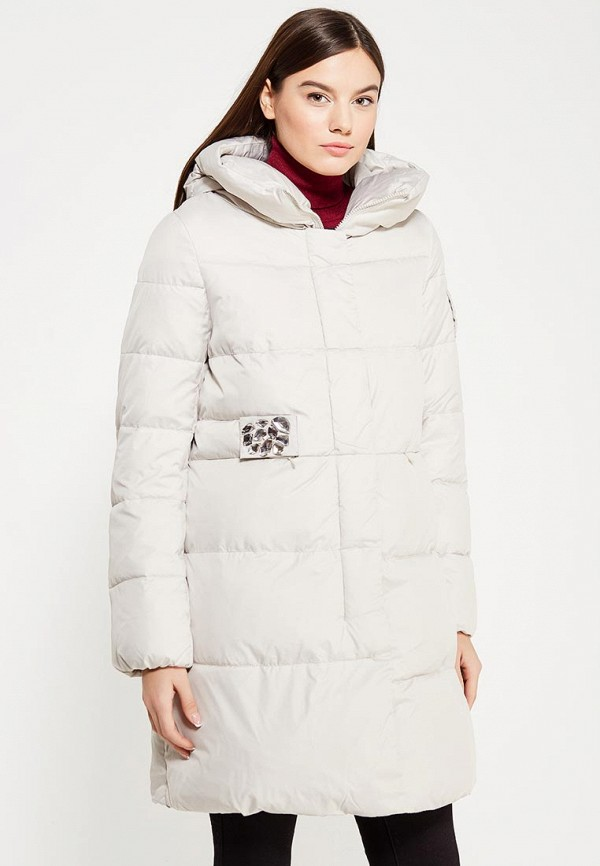 Куртка утепленная Clasna Clasna CL016EWYFD35 куртка утепленная clasna clasna cl016ewrsz35