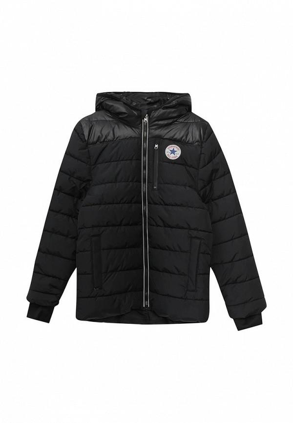 Куртка утепленная Converse, CO011EBXFZ74, черный, Осень-зима 2017/2018  - купить со скидкой