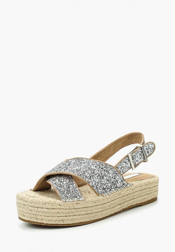 Фото 6 - женские сандали Corina серебрянного цвета