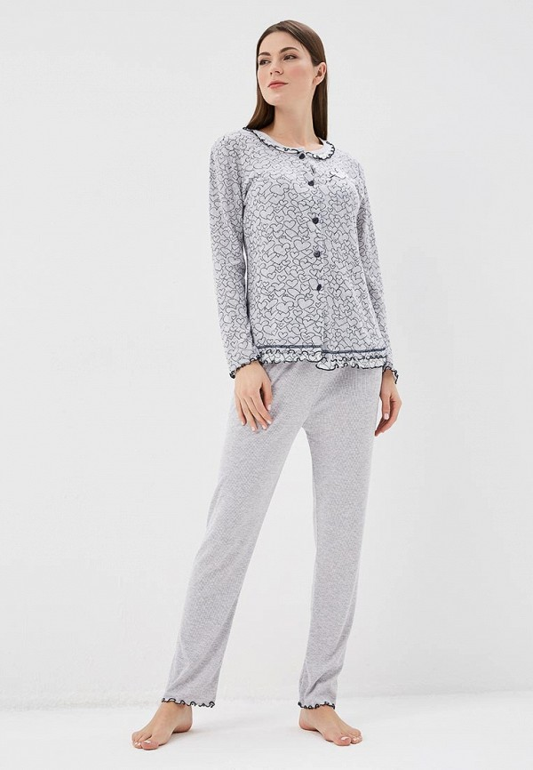 Купить Пижама Cootaiya, CO060EWAQAR9, серый, Весна-лето 2018