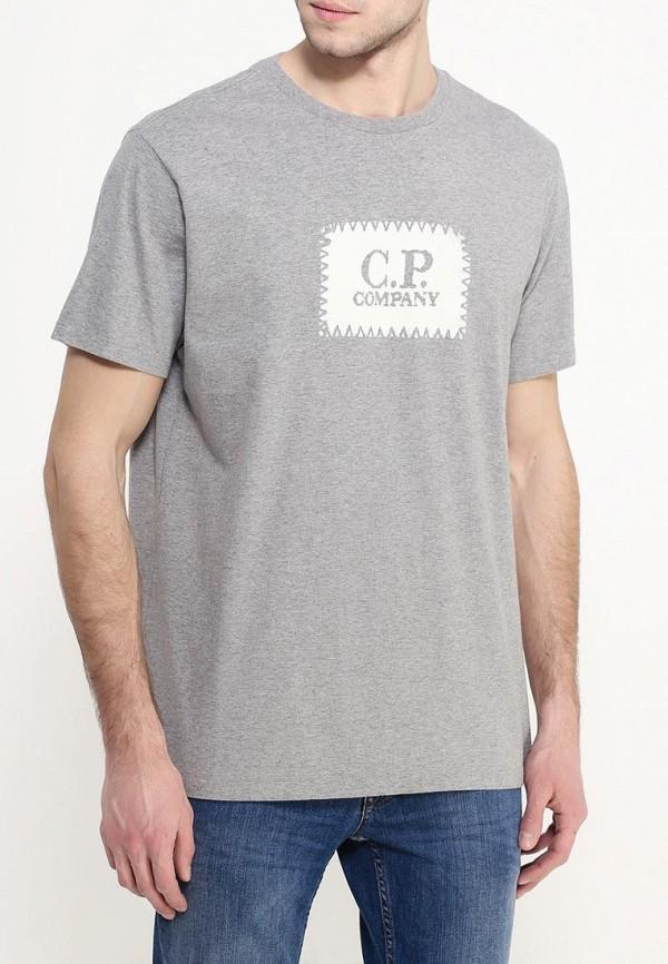 Футболка с надписями C.P. Company 16SCPUH02110: изображение 3