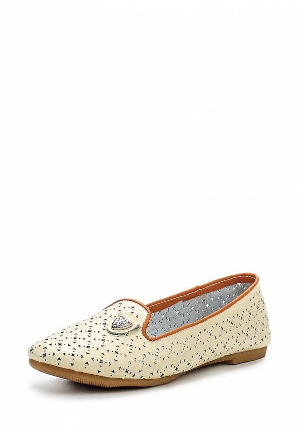 Туфли на плоской подошве CROSBY 257216/01#1W