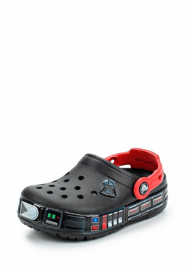 Купить Сабо Crocs, CB FL Darth Vader Lights Clg K, CR014ABARQG3, черный, Весна-лето 2018