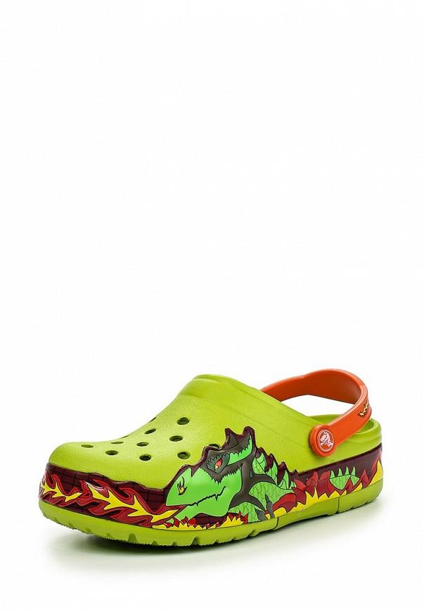 Сланцы для мальчиков Crocs (Крокс) 202661-395