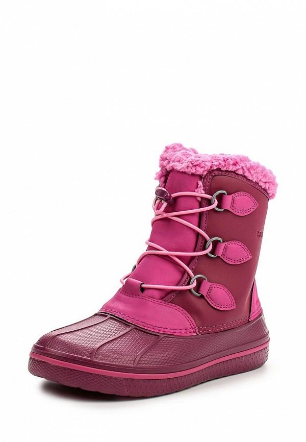 Ботинки для девочек Crocs (Крокс) 203671-675