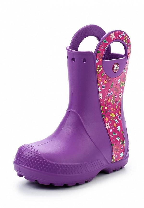 Детские резиновые сапоги Crocs купить детские резиновые