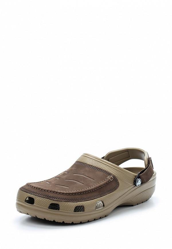 Купить Сабо Crocs, CR014AMARRB1, коричневый, Весна-лето 2018
